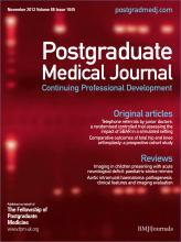 Postgraduate Medical Journal: 88 (1045)