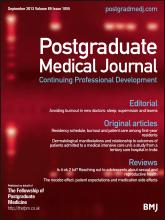Postgraduate Medical Journal: 89 (1055)