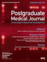 Postgraduate Medical Journal: 89 (1057)
