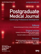 Postgraduate Medical Journal: 90 (1062)