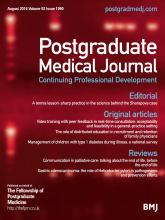 Postgraduate Medical Journal: 92 (1090)