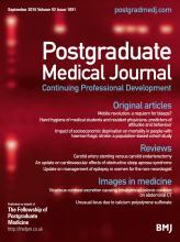 Postgraduate Medical Journal: 92 (1091)