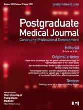 Postgraduate Medical Journal: 92 (1092)