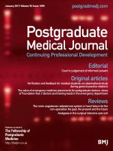 Postgraduate Medical Journal: 93 (1095)