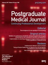 Postgraduate Medical Journal: 93 (1096)