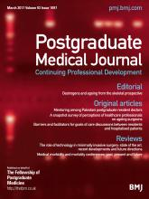 Postgraduate Medical Journal: 93 (1097)