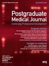 Postgraduate Medical Journal: 93 (1100)