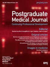 Postgraduate Medical Journal: 93 (1101)