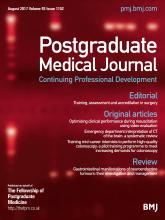 Postgraduate Medical Journal: 93 (1102)