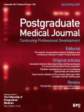 Postgraduate Medical Journal: 93 (1103)