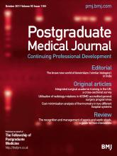 Postgraduate Medical Journal: 93 (1104)