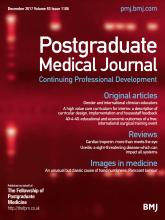 Postgraduate Medical Journal: 93 (1106)