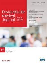 Postgraduate Medical Journal: 95 (1119)